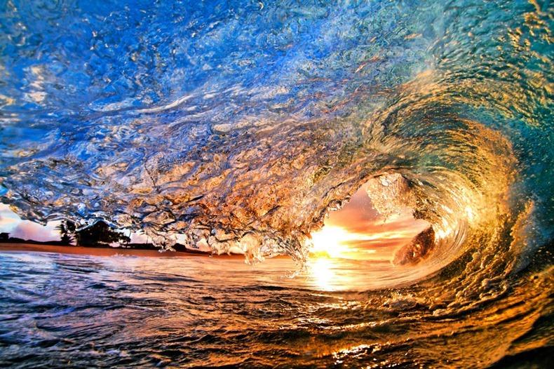 Фото дня: волны на Гавайских островах