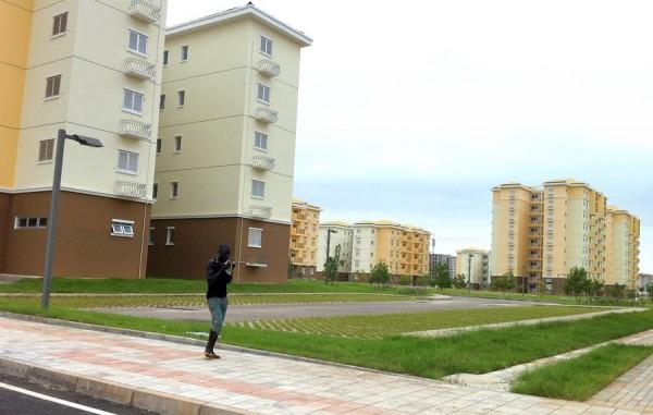 Китайский город-призрак Киламба в Анголе