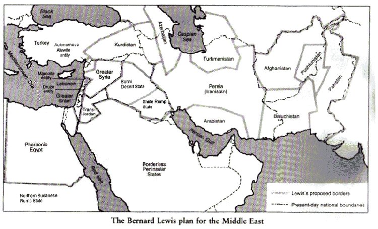 Карты раздела арабского мира