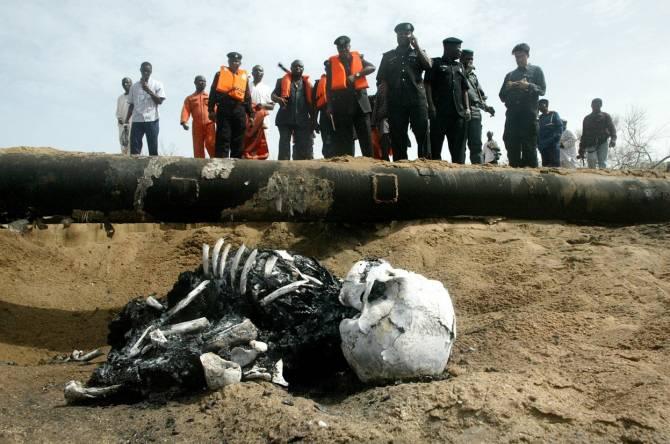 Как российские и нигерийские пираты воруют нефть