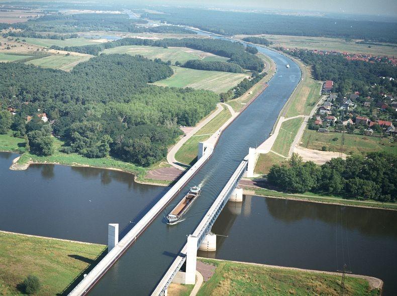 Фото дня: Водяные мосты Европы