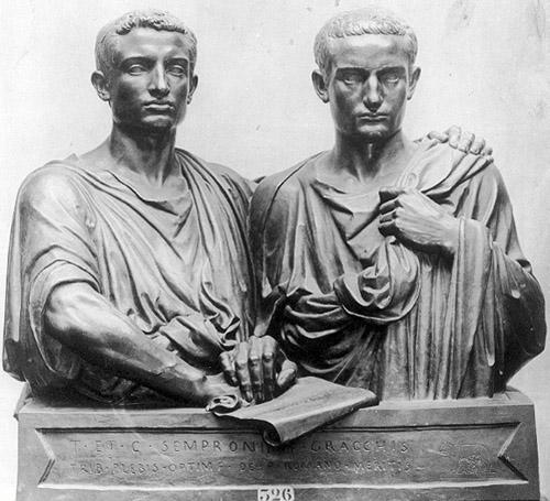 Рим от Гракхов до Спартака: античный оранжизм
