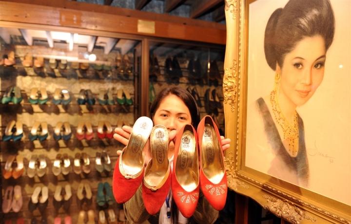 2700 пар обуви жены филиппинского диктатора Маркоса