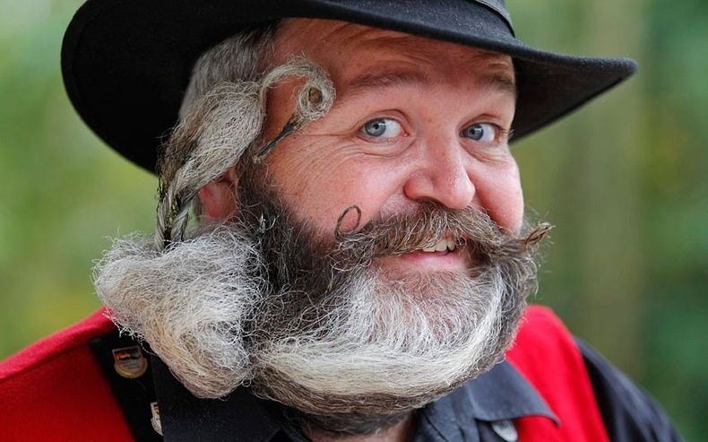 Фото недели: чемпионат бород и усов в Европе