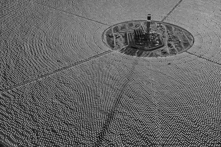 Фото недели: Google-электростанция в пустыне Калифорнии