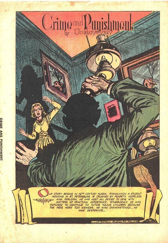 «Преступление и наказание»: американский комикс (скоро и в России)