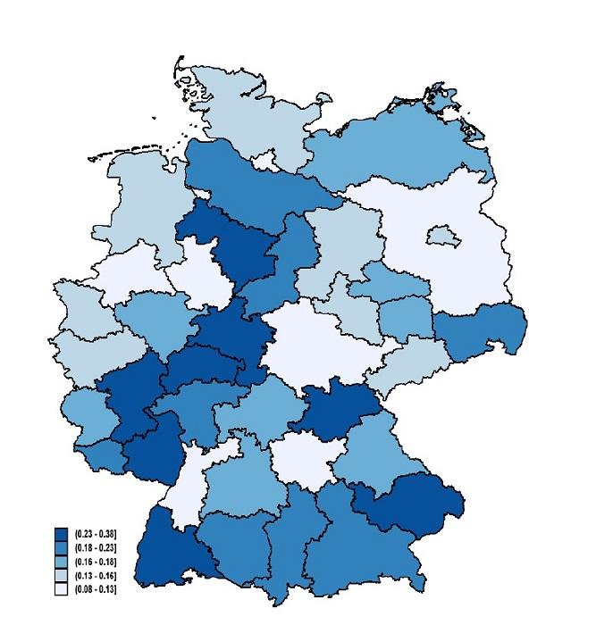Карта дня: Антисемитизм в Германии «передаётся по наследству»