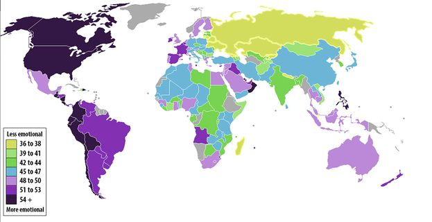 Карта дня: Россия для равнодушных