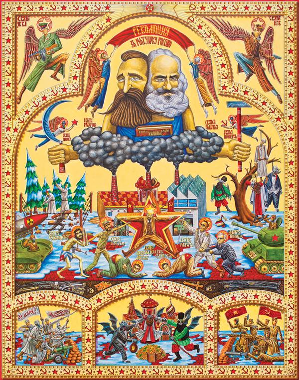 Коммунизм, нацизм, капитализм: иконостасы серба Тодоровича