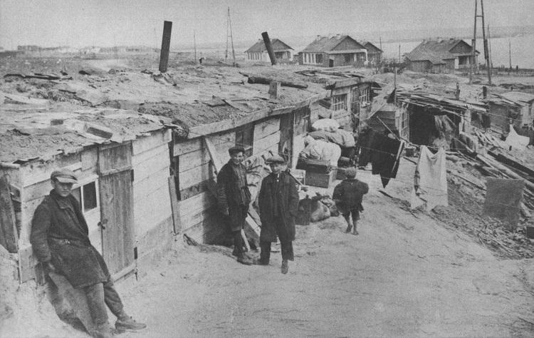 Разгром НКВД в 1939-м жителей хибар на железных дорогах