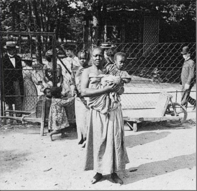 Временная экспозиция с неграми была в 1958 году в брюсселе