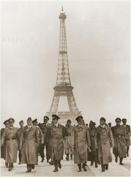 Нажива и парижские улицы времён нацистской оккупации