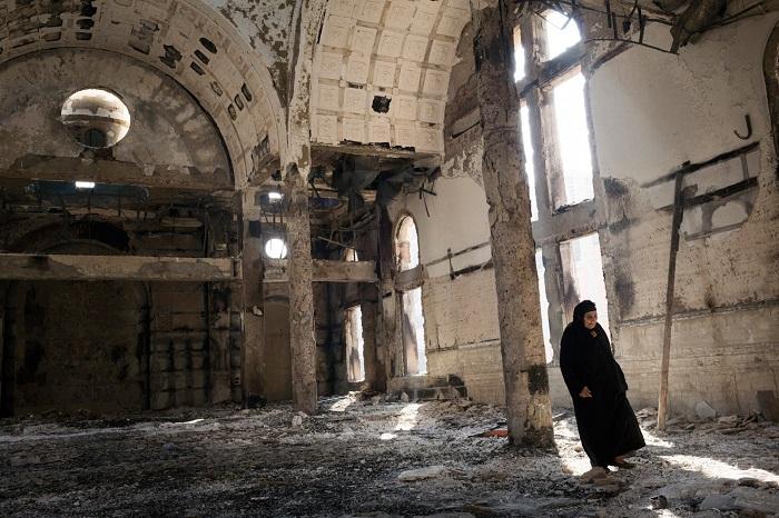 Разгромленные церкви коптов Египта