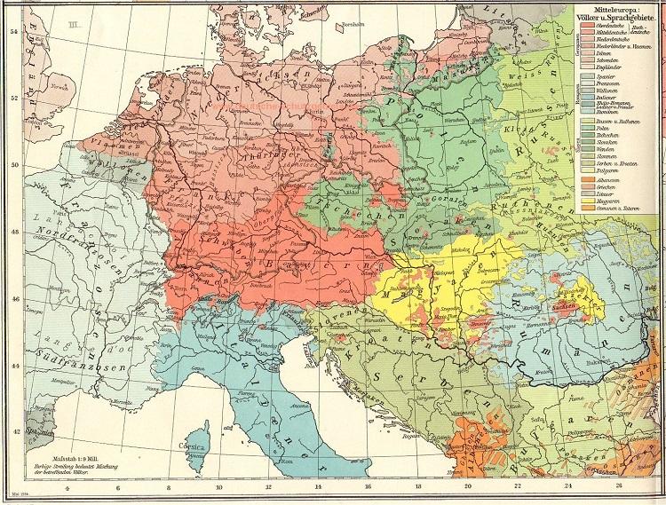 Немецкая Mitteleuropa конца XIX века как прообраз современного ЕС