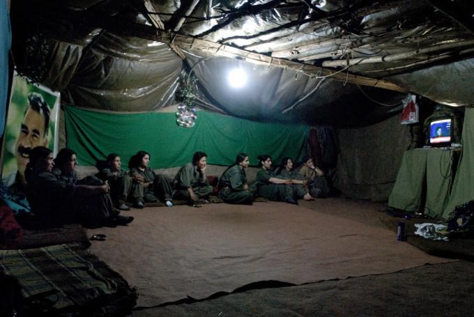 Женские отряды в Курдской армии освобождения