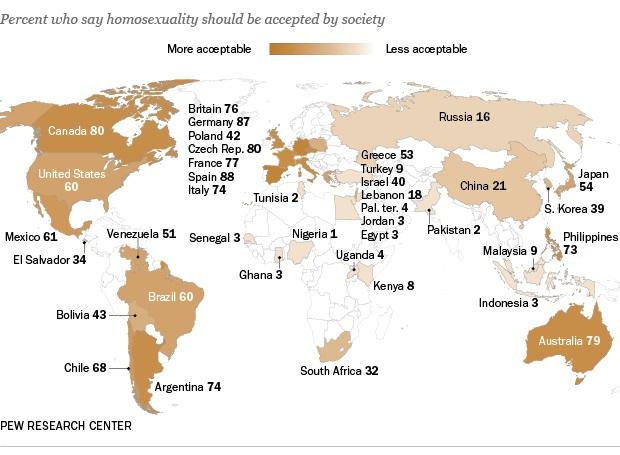 Численность гомосексуалистов япония