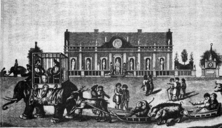 Сверхпотребление российского дворянства в XVIII веке