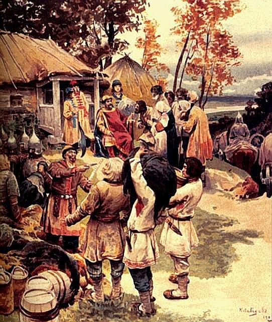 Математическая модель эксплуатации русских крестьян в Средневековье