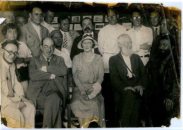 Поездка Бернарда Шоу в Москву в 1931 году