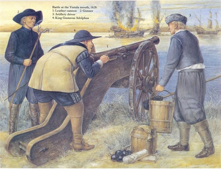 Как шведская пушка изменила политическую систему Европы в XVII веке