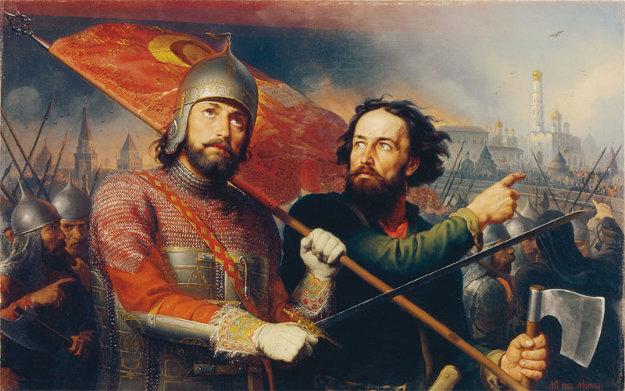 Английский след в истории Второго ополчения во время Смуты