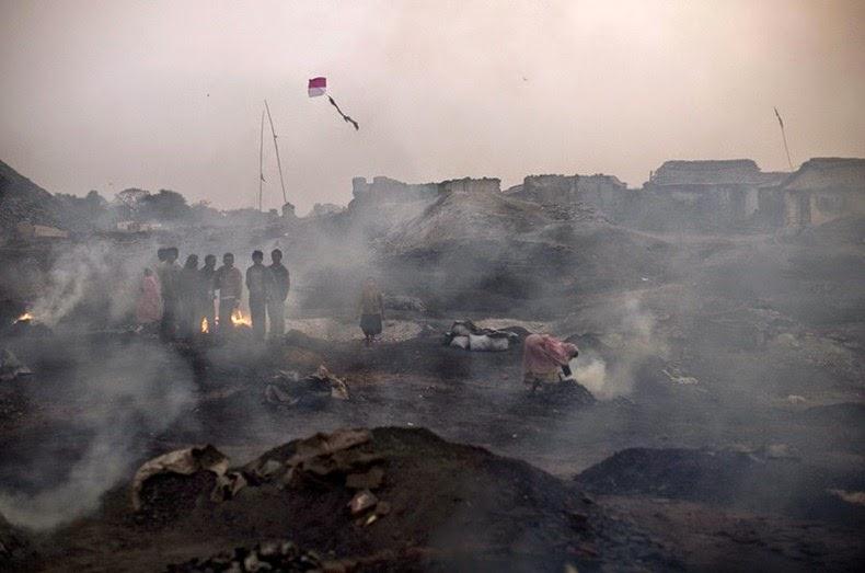Шахты-самокопки в Индии и на Донбассе