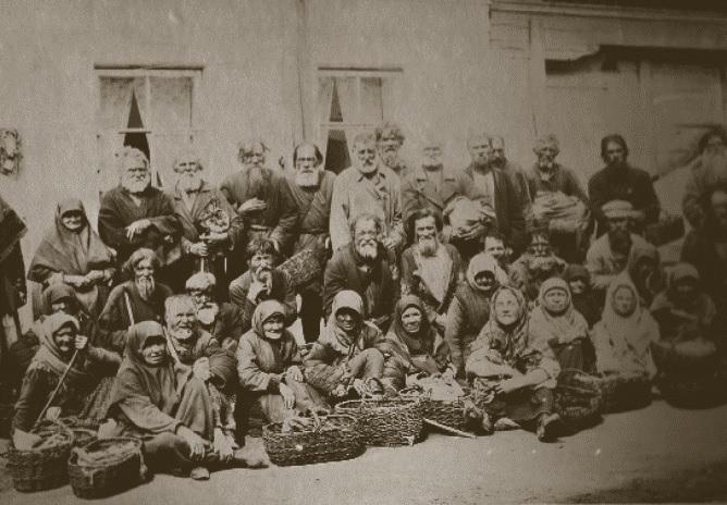 Американец Джозайя Флинт исследует нищих Российской империи