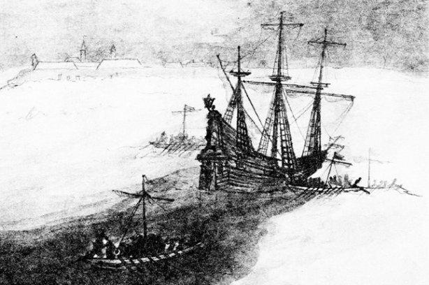 Победа казацких чаек над шведским флотом в 1635 году
