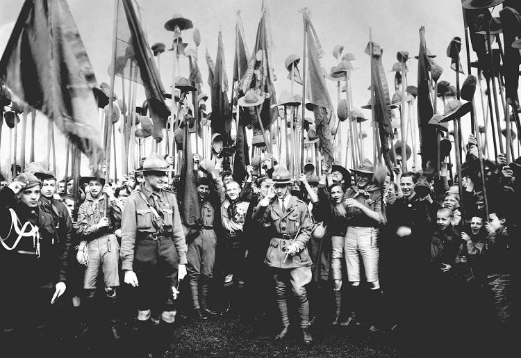 Разгром в СССР организации скаутов в 1926-28 годах