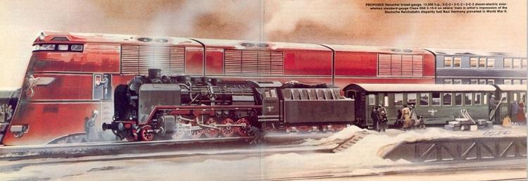 «Скоростные железные дороги Гитлера» для Европы и России