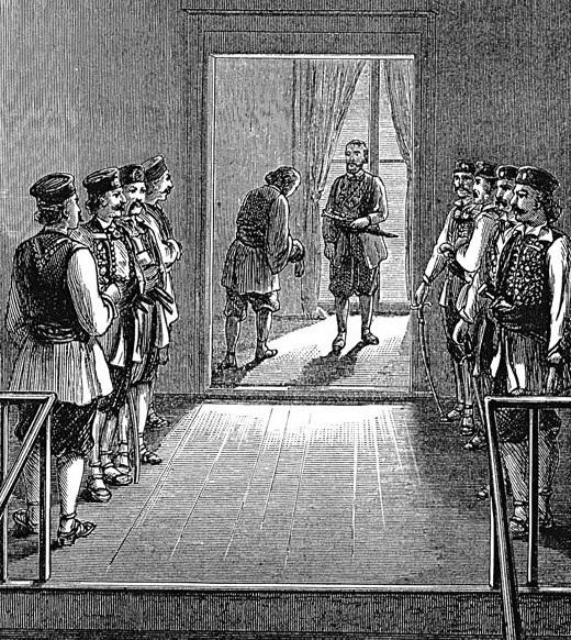 Русский царь «Пётр III» — черногорец Степан Малый