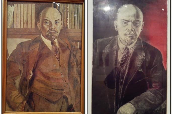 Ленин запечатлён в образе Иосифа Славкина