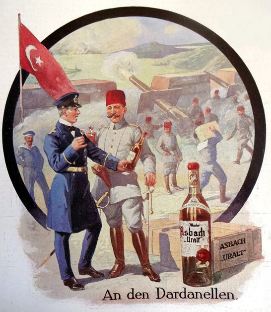 Бросок Германии на Ближний Восток и Первая мировая война за нефть