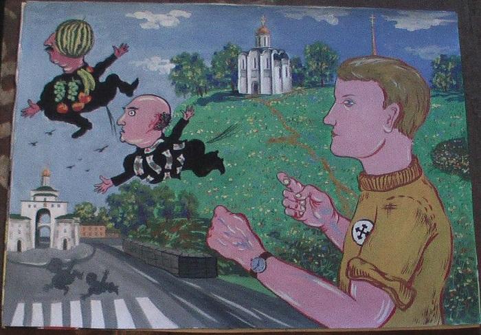 Англо-саксонский взгляд на русский национализм: архаизация и слабость