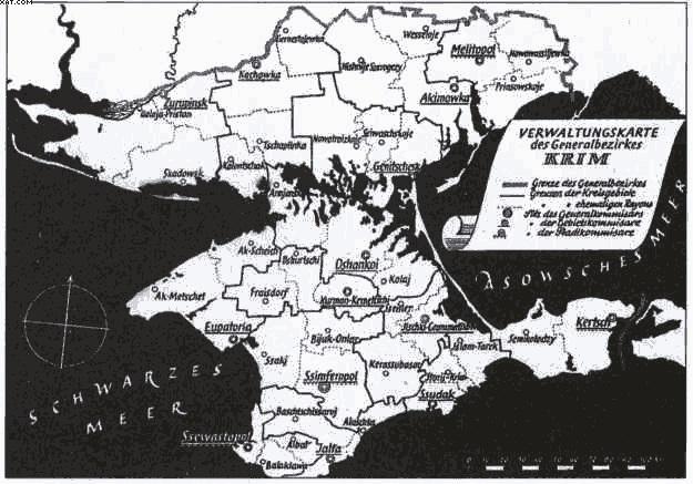 Как немцы собирались колонизировать Крым