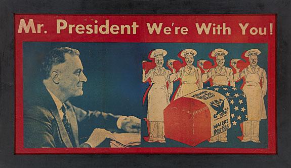 Как Рузвельт заставил американцев увидеть в Гитлере врага