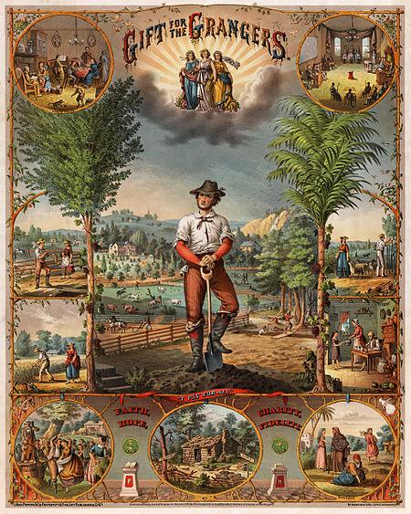 Аграрный рай ранних США