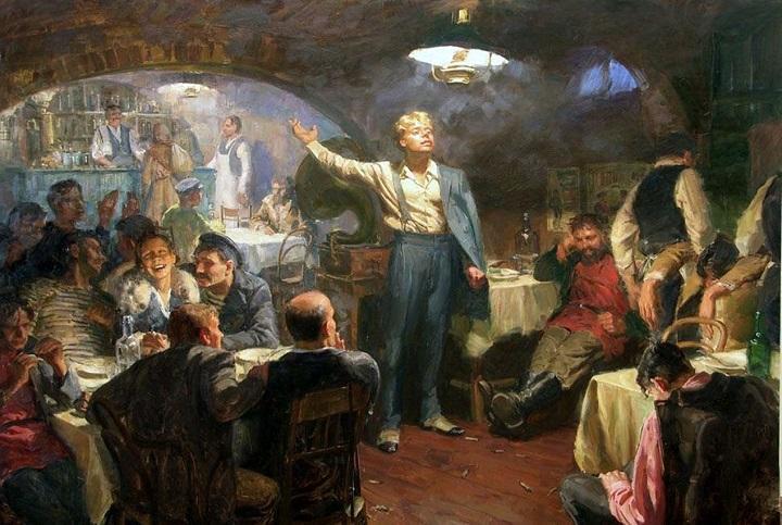 Деревенский кабак как зародыш русского гражданского общества