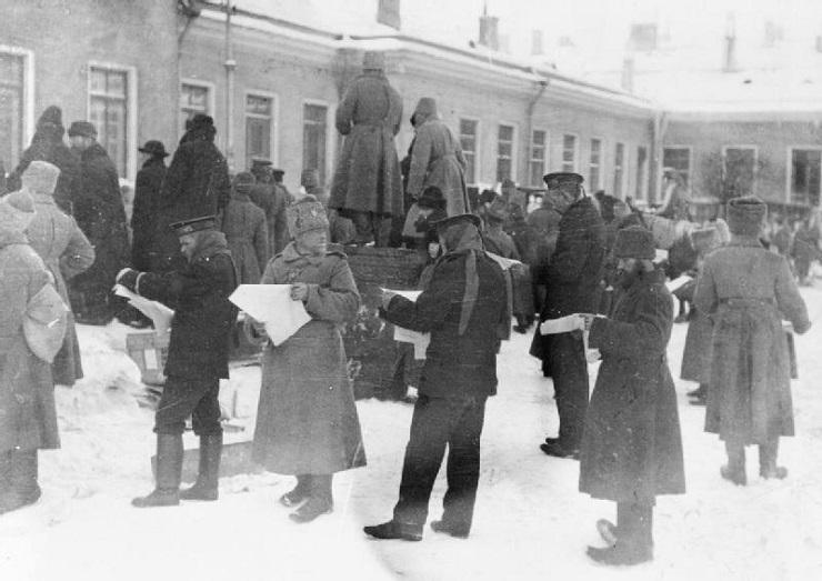 Восстание Царскосельского гарнизона в феврале 1917-го