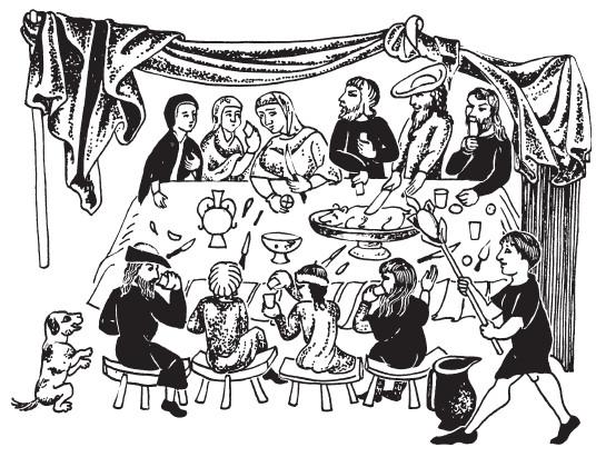В чём было отличие питания византийцев и европейцев