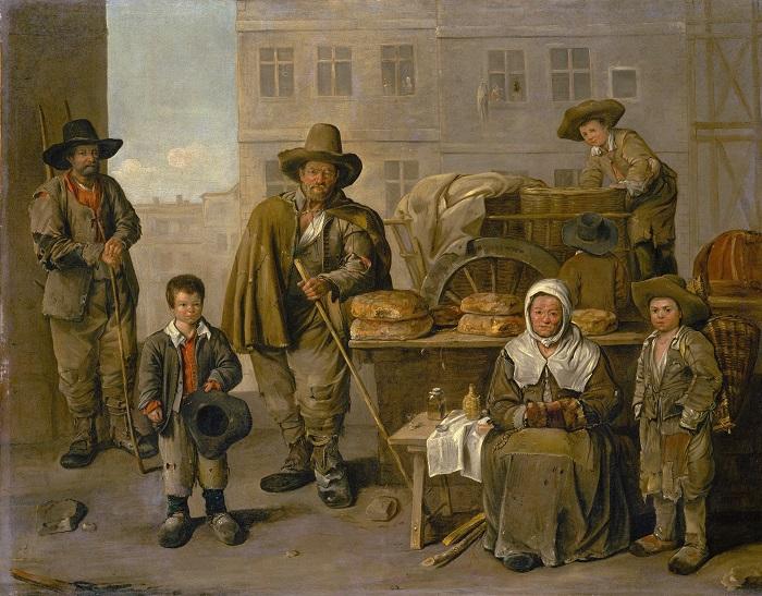 Хлеб и мясо в Европе в XIV-XVIII веках