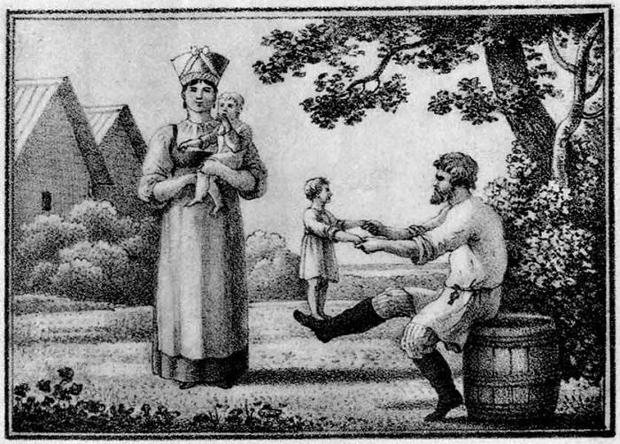 Жюль Мишле: «Водка и женщина – вся радость русского»