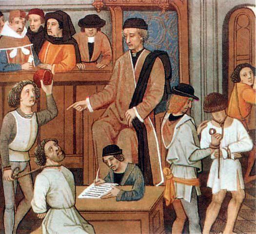 Одежда как маркер для средневекового правосудия