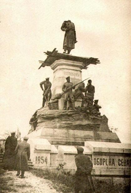 Как немцы перезахоронили в Крыму в 1942 году русских героев Севастополя