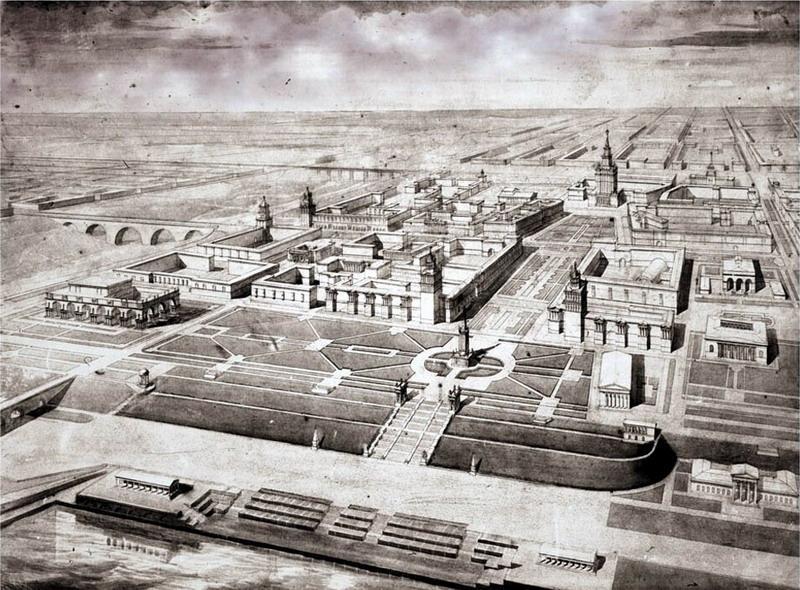 Два советских подхода к городу будущего: субурбия и коммуна