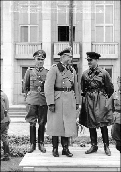 Польская оборона Брестской крепости от фашистско-советских захватчиков