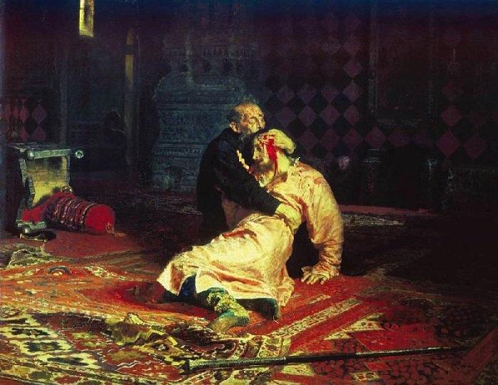 Почему Александр III запретил картину «Иван Грозный убивает своего сына»