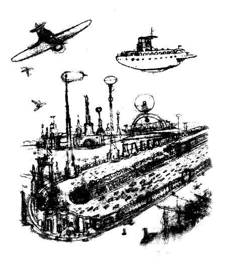 Как космист Иван Коровин построил в 1917-м «эфирный дирижабль»