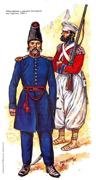 О массовом дезертирстве русских солдат в начале XIX века