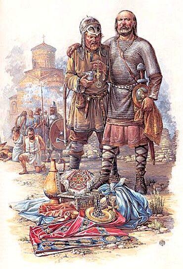 Варяги, мадьяры, хазары, Византия и пути торговли славянскими рабами в IX-X веках